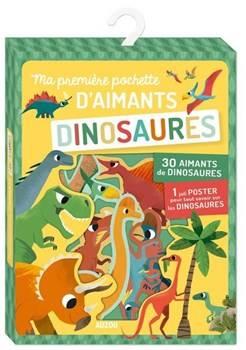 Auzou: Zestaw magnesów 35 szt. Dinozaury 4+