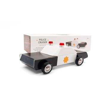 CandyLab - Drewniany Samochód - Police Cruiser