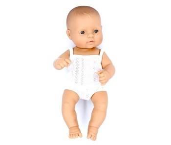 Miniland: Lalka dziewczynka Europejka 32cm