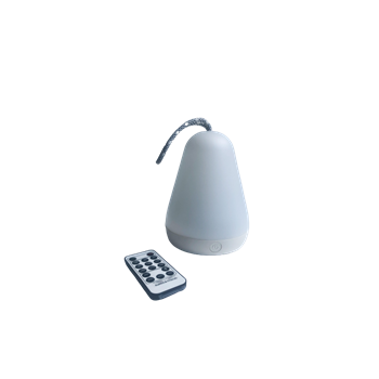 Rabbit&Friends: Lampka latarenka z pilotem biała
