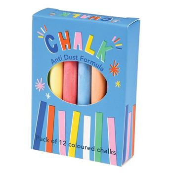 Rex London: Kreda kolorowa dla dzieci 12 szt.,