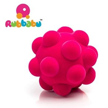 Rubbabou - Piłka z fakturą różowa