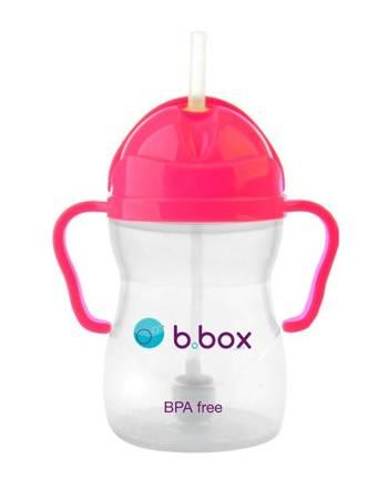 B.BOX - Bidon niekapek neon różowy