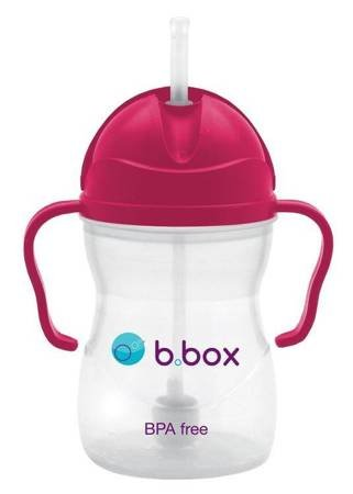 B.BOX - Bidon niekapek różowy