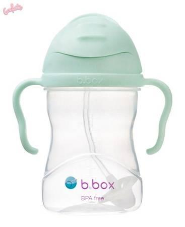 B.BOX - Bidon ze słomką 240 ml, Gelato Pistachio