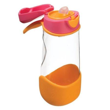 B.Box: Sportowa butelka tritanowa Strawberry Shak
