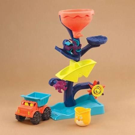 B.Toys: Młyn wodny – kaskada z atrakcjami Autko