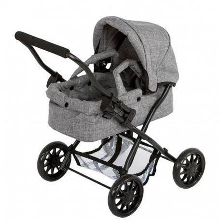 Barrutoys - Wózek głęboki Grey