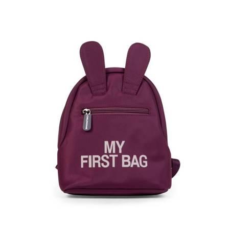 Childhome: Plecak dziecięcy My first bag Aubergine