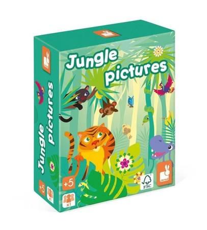 Janod: Gra pamięciowa Obrazki z dżungli